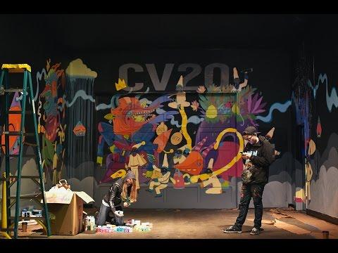 Ten Hundred - Caffe Vita Seattle Mural