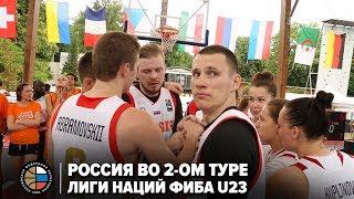 Россия во 2-ом туре Лиги Наций ФИБА U23