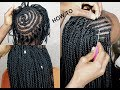 HOW TO- CROCHET TWIST ON SHORT NATURAL HAIR