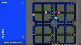 Google Maps: Pac-Man