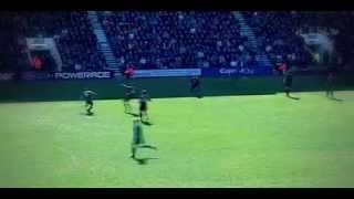 Lee Miller overhead goal (Bournemouth vs CARLISLE) 20 04 2013