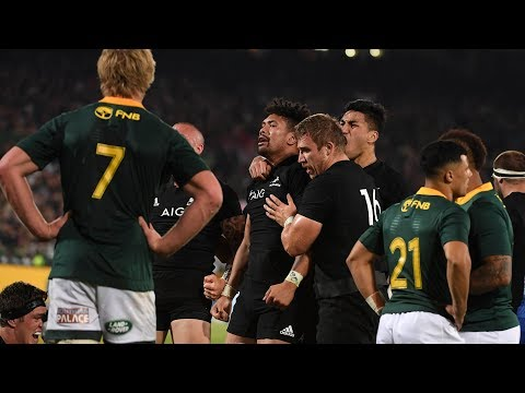 HIGHLIGHTS: All Blacks v South Africa second Test – 2018