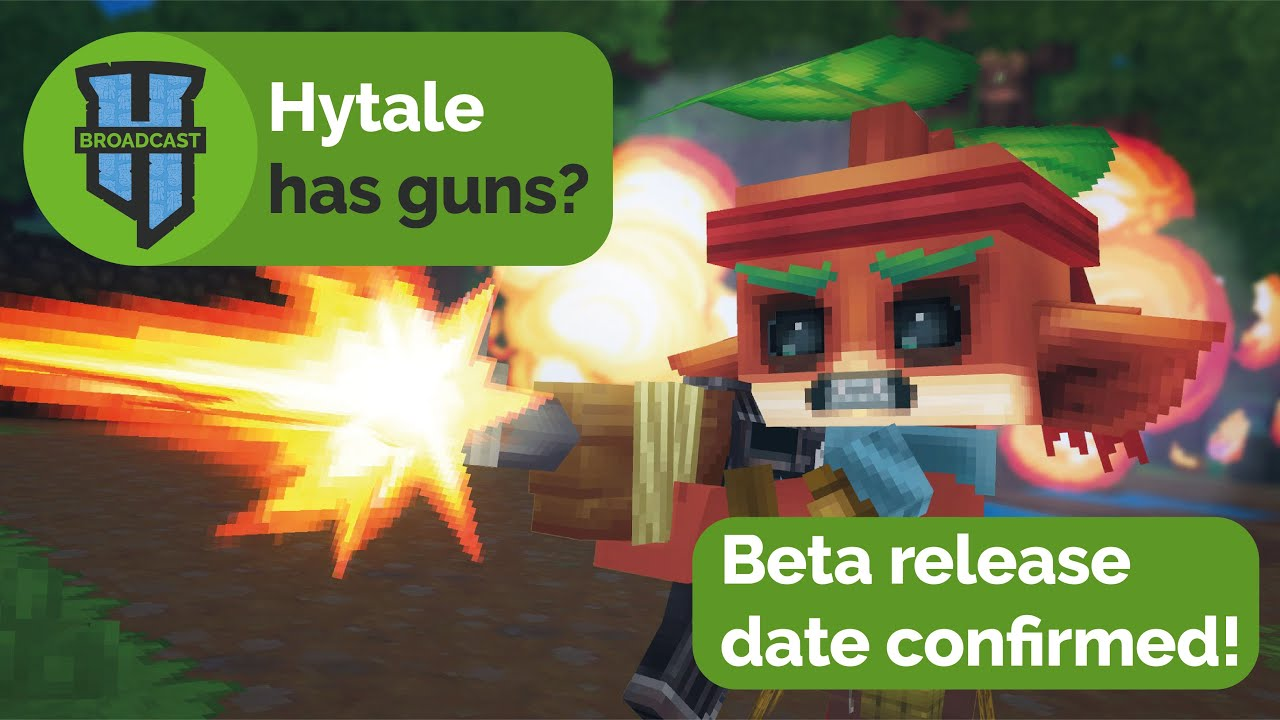 Hytale has guns ? - Beta release date confirmed & No pay to win system