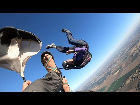Friday Freakout: AFF Student's Skydive Goes Wrong, Gets Entangled With Bridle