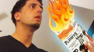 BURNING PLAYOFF TICKETS PRANK  PrankvsPrank thumbnail