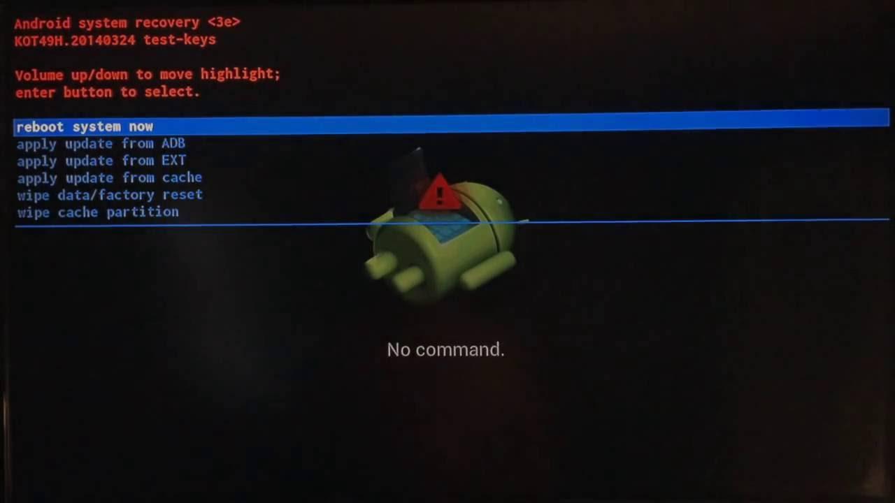 how to update m8s firmware ota