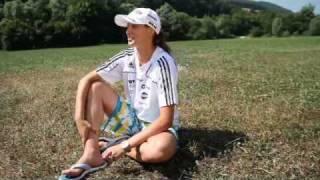Eva Logar, smučarska skakalka