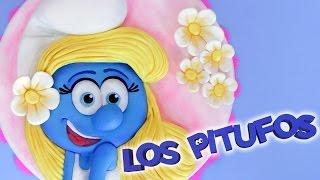 PASTEL DE LOS PITUFOS - PITUFINA | DACOSTA'S BAKERY