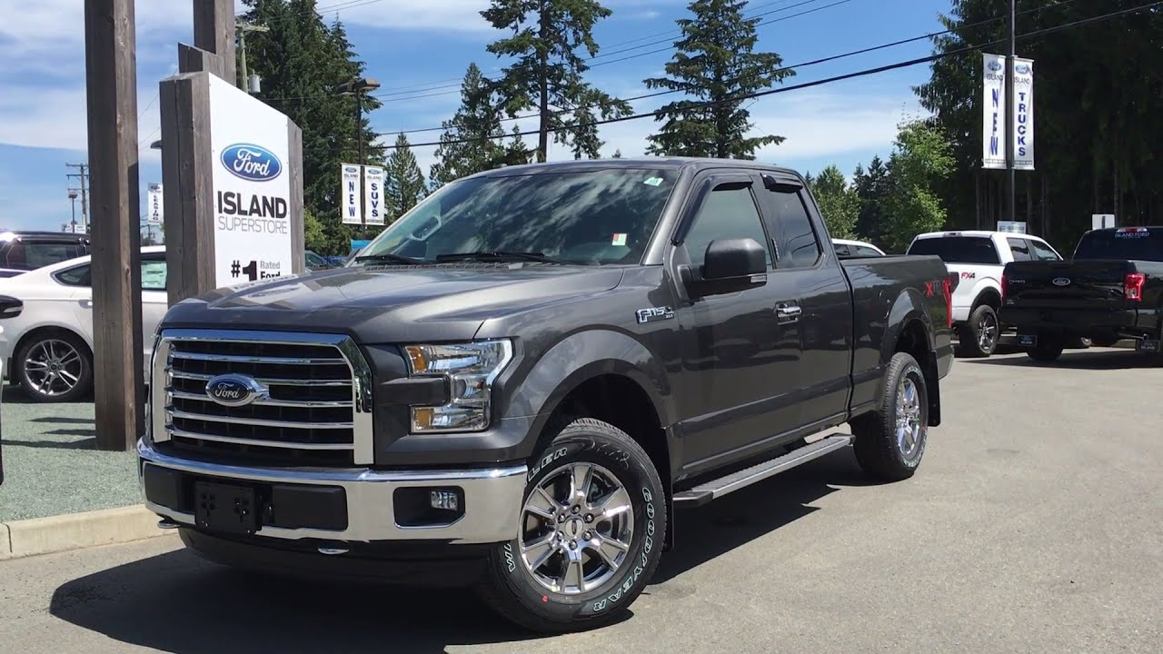 2016 ford f 150 xlt xtr fx4 supercab 4x4 review island ford youtube. Black Bedroom Furniture Sets. Home Design Ideas