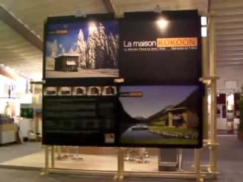 Stand construction maison basse consommation passive salon for Salon construction maison