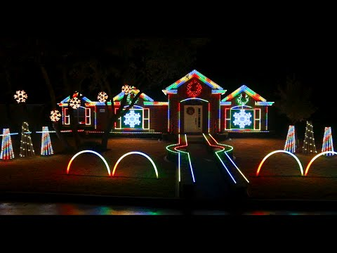 2014 Johnson Family Dubstep Christmas Light Show - Featured on ABC's The  Great Christmas Light Fight - 2014 Johnson Family Dubstep Christmas Light Show - Featured On ABC's