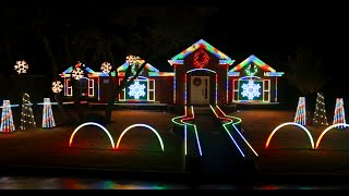 2014 Johnson Family Dubstep Christmas Light Show - Featured on ABC