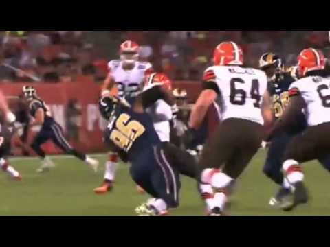 Michael Sam Sacks Johnny Manziel and Mocks him