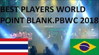 GRANDE FINAL PBWC 2018 - 2kill Gaming [Brazil] vs [Thailand] Tokiostriker - Point Blank