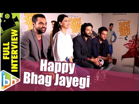 Diana Penty | Ali Fazal | Jimmy Sheirgill | Abhay Deol | Happy Bhag Jayegi | Full Interview