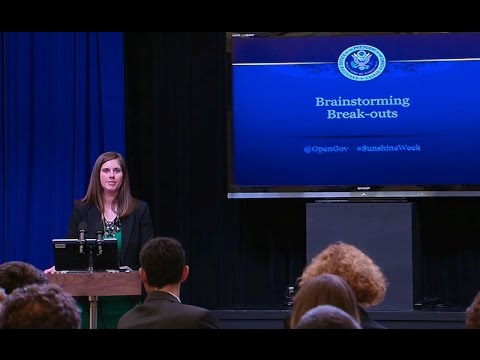 The White House Open Government Workshop