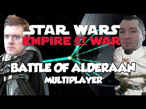 STAR WARS EMPIRE AT WAR - Battle of Alderaan! IT'S A TRAP!