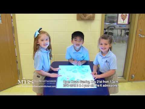 "Most Blessed Sacrament Catholic School ""Open House 2017"""