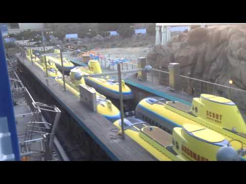Finding NEMO Submarine Voyage Ride UNDER REPAIR