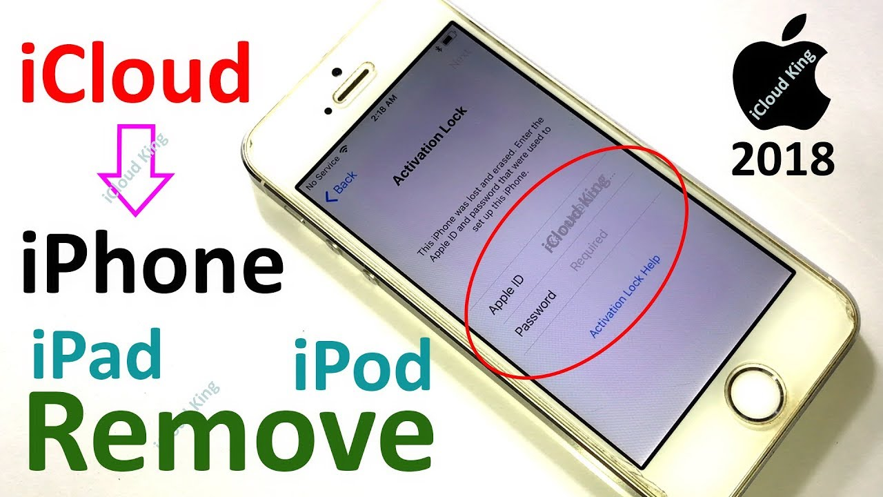 Activation lock iphone 5 unlock