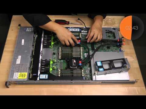 Timelapse: Installing Asetek Liquid Cooling Inside Cisco 220 Server