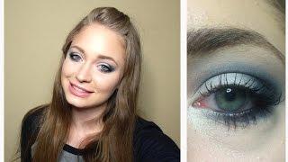 Макияж синие смоки айс: видео-урок / Deep Blue Smoky Eyes