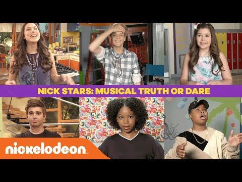 'Musical Truth or Dare' w/ Jace Norman, Riele Downs, Kira Kosarin & More! | Nick