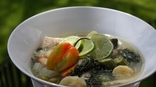 Fish Broth (broff). Caribbean Fish Soup.