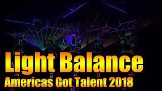The Illusionists And Light Balance Performance Americas Got Talent 2018 GTF
