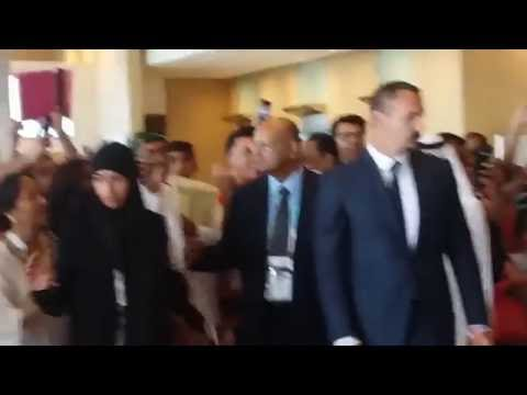 Prince Rahim Aga khan presence @ jubilee games 2106 dubai