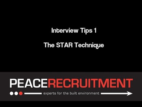 Interview Tips The STAR Technique YouTube