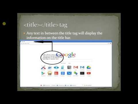 HTML for kids part 1