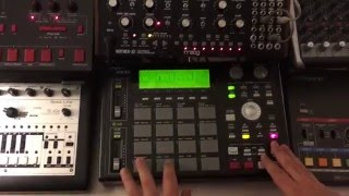 Chemical Brothers - Chemical Beats Patch Moog Mother-32