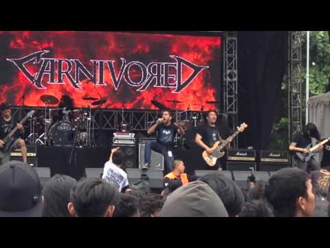 Carnivored - In idols we pray (live at Hellprint)