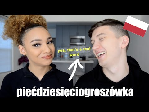 Boyfriend Teaches Me The Hardest Polish Words..