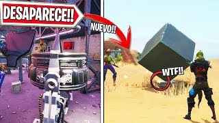 THE MACHINE DISAPPEARS AND NEW SECRETS IN OASIS, LIVE FORTNITE!