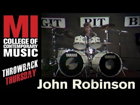John Robinson Throwback Thursday From the MI Library