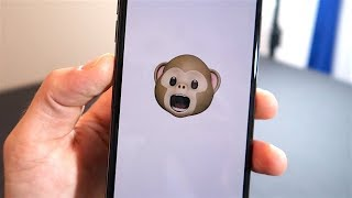 iPhone X - Animoji (Animated Emojis)