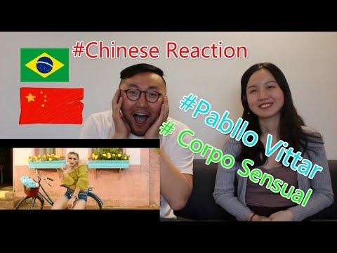 Chinese React to Pabllo Vittar - Corpo Sensual  (feat. Mateus Carrilho) (Videoclipe Oficial)