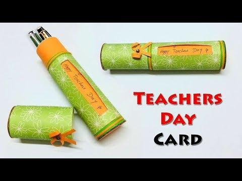 How to Make Teachers Day Card | Teachers Day Card | Happy Teachers Day Card | World Teachers Day