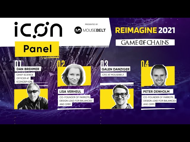 REIMAGINE 2021 - Panel Discussion - ICON's growing community