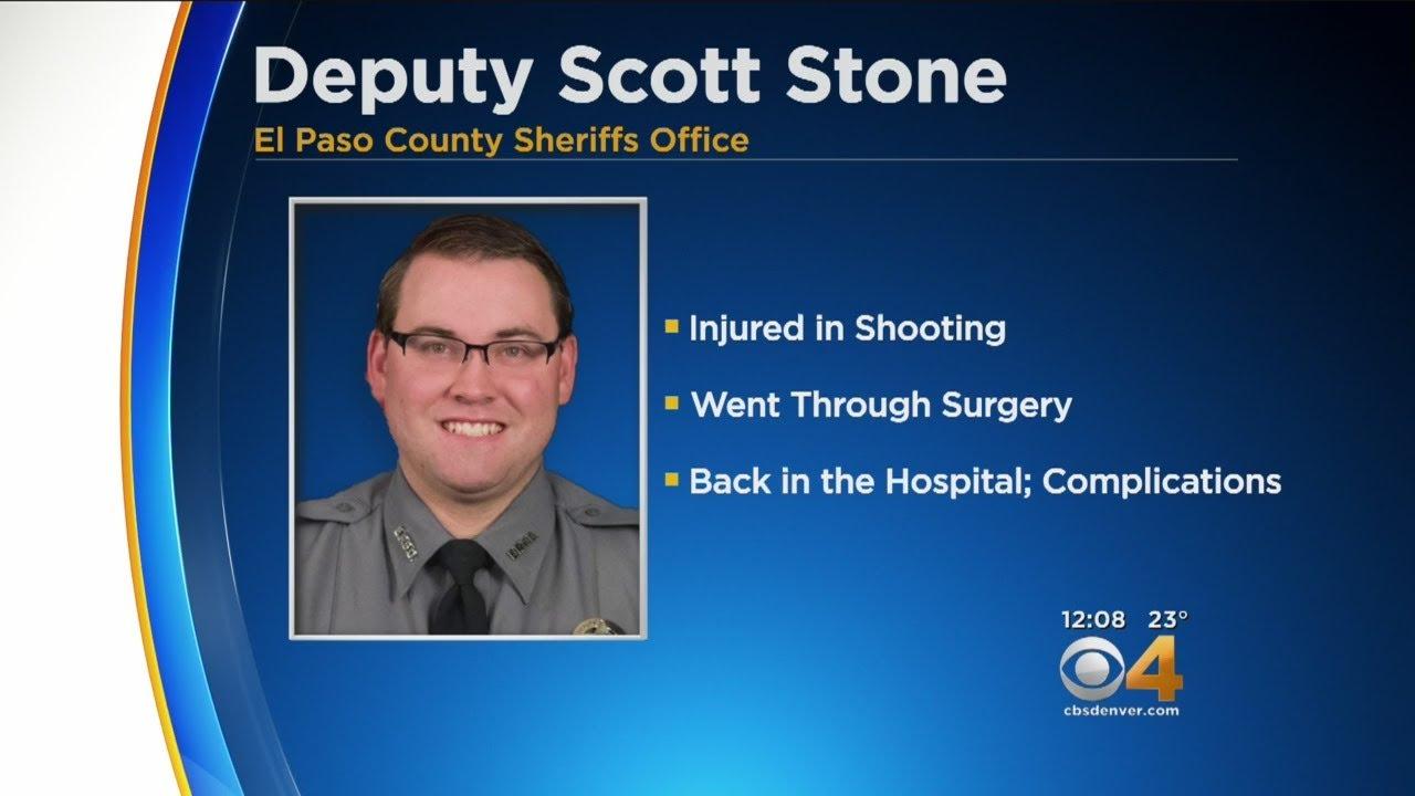 Deputy Scott Stone Back In The Hospital