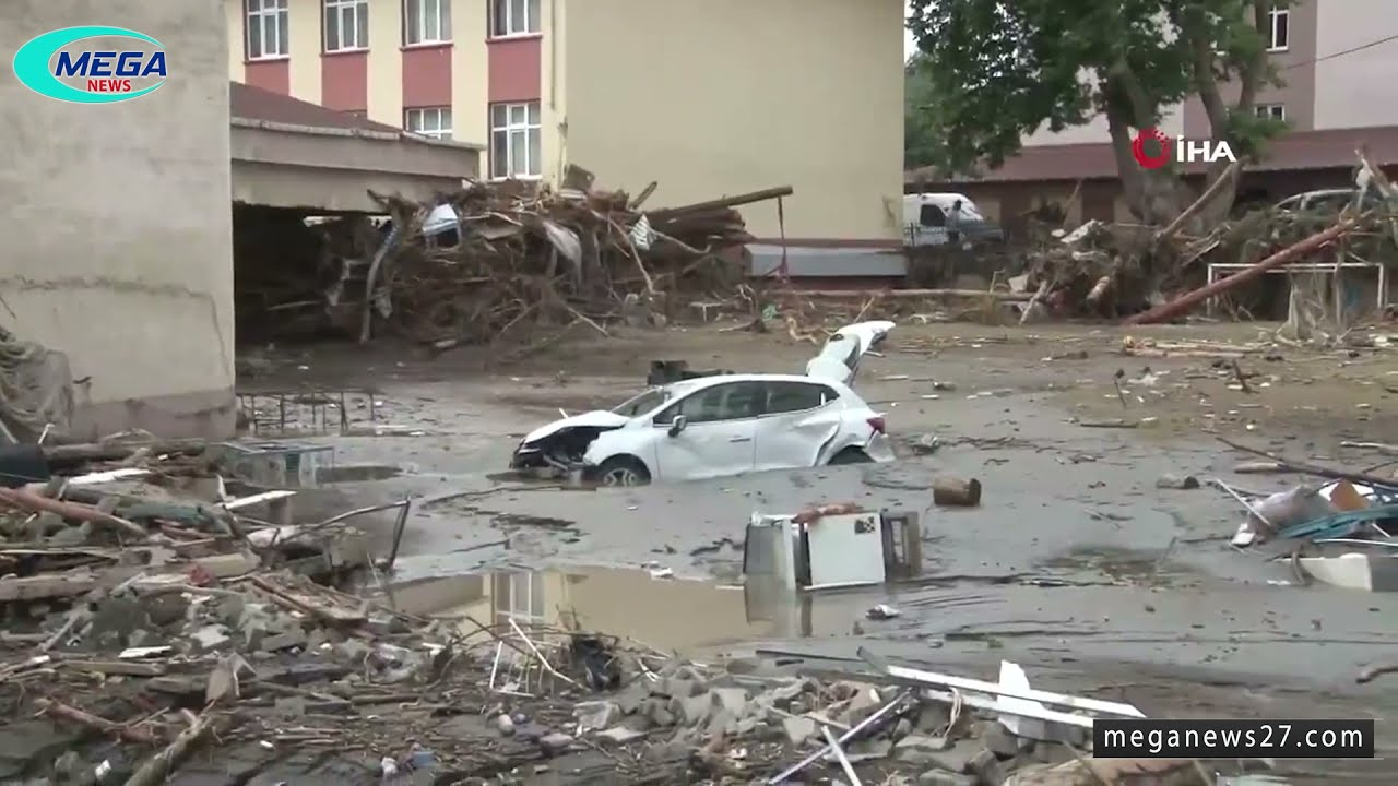 مشاهد من فيضان كاستامونو في تركيا