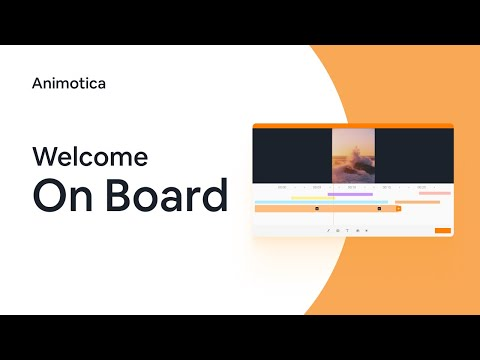 Animotica - Welcome on board