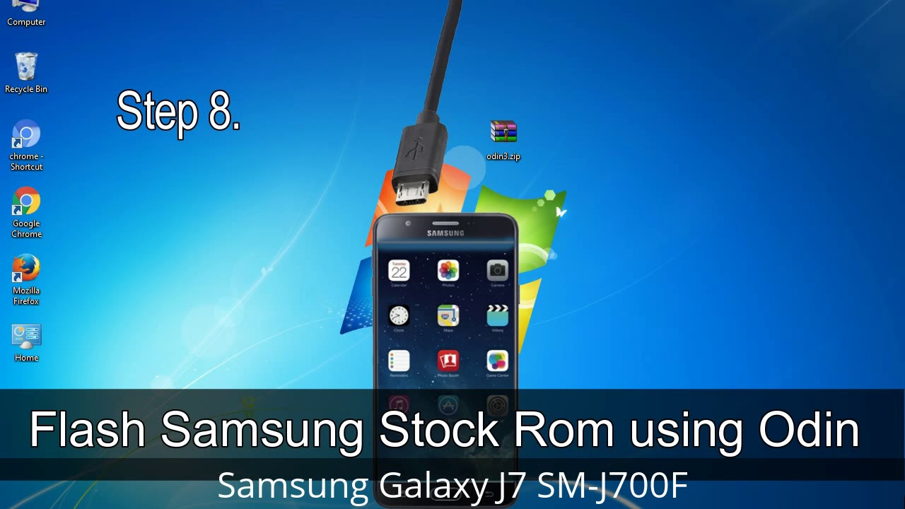 How to Samsung Galaxy J7 SM-J700F Firmware Update (Fix ROM)