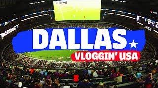 FC BARCELONA MATCH AT AT&T STADIUM VLOG  | Vloggin' USA