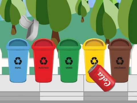 Reciclagem Latas De Lixo Youtube