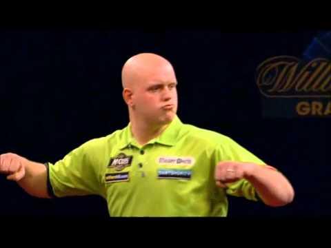 Van Gerwen Two 170 Finishes - Grand Slam of Darts 2012