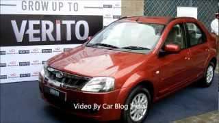 2012 Mahindra Verito New Model Exteriors And Interiors Walk Around Review