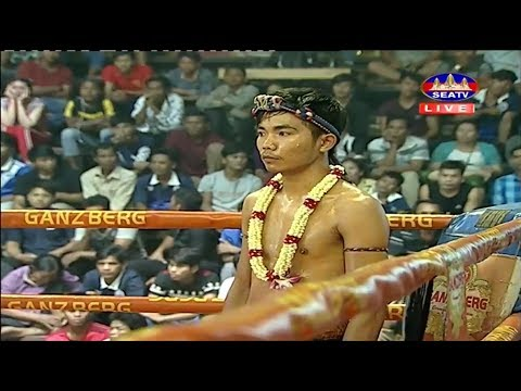 Chan Bunhoeun vs Phat Thana(thai), Khmer Boxing Seatv 24 March 2018, Kun Khmer vs Muay Thai
